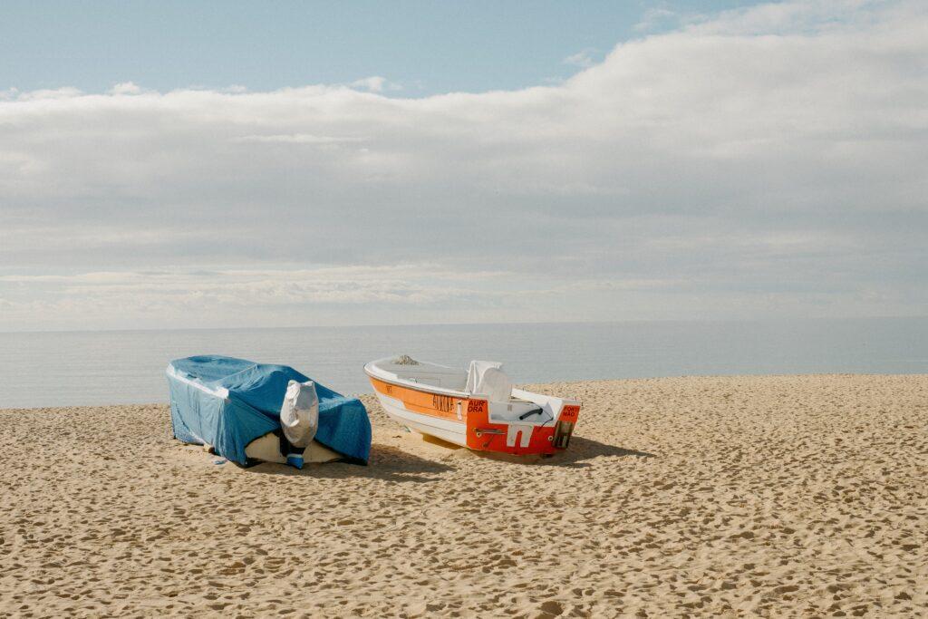 Praia dos Pescadores - Beach in Armação de Pera, Algarve, Portugal